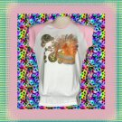 Magic Bubble Fairy Ladies Cap Sleeve Raglan T-Shirt XL