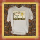 Funny Drinking Beauty In Eye Of Beer holder Cotton T-Shirt XL