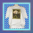 Panda Bear Eating Bamboo T-Shirt XL