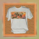 Zoo Animal Jaguar Wild Cat T-Shirt Large