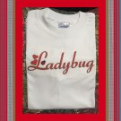 Ladybug Love Love Bug Hearts Cotton Youth T-shirt Medium