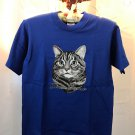 Domestic Short hair Cat Cotton Youth T-shirt