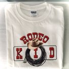 Rodeo Kid Lasso Western Cotton Youth T-shirt