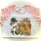 Fantasy Magic Bubble Fairy Ladies Cap Sleeve T-Shirt
