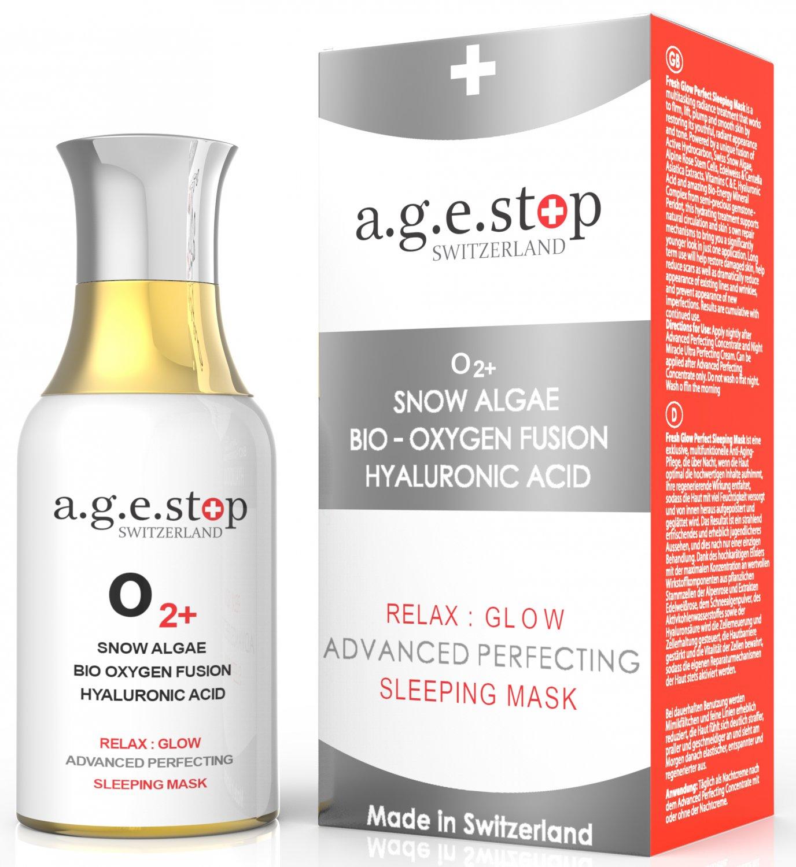 Age Stop Switzerland OXYGEN FUSION BEAUTY SLEEP MASK 60ML