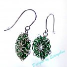 Celtic Star Green and Silver