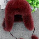 Women Trapper snow skiing Hat Earflap Bomber Hats Russian Hat Winter