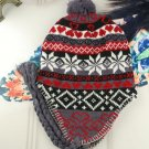 Men Women Winter Warm Cap Heart Knitted Autumn