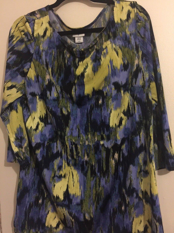 JACKLYN SMITH Women's Multicolor SHIRT/TOP Large.  E
