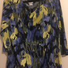 JACKLYN SMITH Women's Multicolor SHIRT/TOP Large.  E