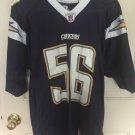 Shawne Merriman #56 Chargers Reebok NFL Equipment Jersey A