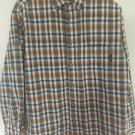 GUESS Mens Button up long sleeve plaid western shirt size Small D