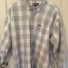 Chaps RALPH LAUREN Long Sleeve Button Up Shirt Extra Large 100% Cotton Z18
