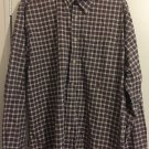 Tommy Hilfiger Men's Long Sleeve Plaid Button Down Shirt Size XL.      D