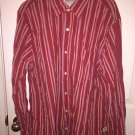 Timberland Vintage Long Sleeve Button Down Shirt 100% Cotton Red Mens XL Z29