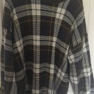 GANT Men's Sz XL Blue/Green Plaid Cotton Crew Neck Sweater. B