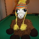 Llama Crochet Stuff Animal Children's Toy Animal Handmade