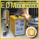 powerful CE certificated edm SFX-4000B for broken bolt screw removal and hole drilling machine