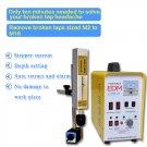 mini spark erosion edm-8c machine to remove broken bolt tap stud and cut wire