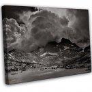 Ansel Adams Garnet Lake Summer Thunder Fine Art 20x16 Framed Canvas Print