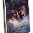 The Empire Strikes Back 1980 Vintage Movie FRAMED CANVAS Print 11