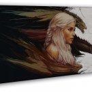Game Of Thrones Daenerys Stormborn Wall Decor 20x16 FRAMED CANVAS Print