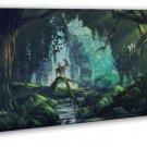 Princess Mononoke Anime Flim Wall Decor 20x16 FRAMED CANVAS Print