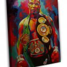 Mike Tyson Champion Boxer Boxing Art Friends Gift 20x16 FRAMED CANVAS Print