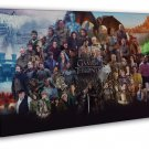 Game Of Thrones Season 6 All Characters Art 20x16 FRAMED CANVAS Print