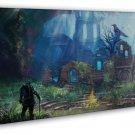 Dark Souls 3 Iii Game 20x16 Framed Canvas Print