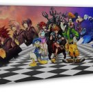 Kingdom Hearts 3 Game Art 16x12 Framed Canvas Print