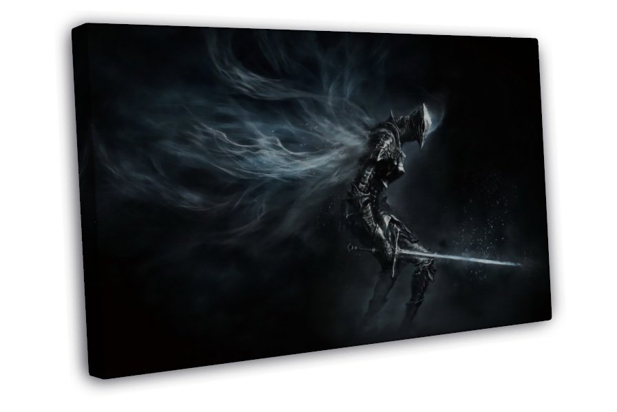 Dark Souls 3 Iii New Hot Game Art Pictures 20x16 Framed Canvas Print