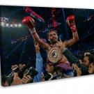 Manny Pacman Boxing Champion Art 20x16 FRAMED CANVAS Print Decor
