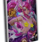 League Of Legends Game Sexy Lux Nude Girl Wall 16x12 FRAMED CANVAS Print