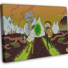 Rick And Morty Tv Animation Wall Decor 16x12 Framed Canvas Print