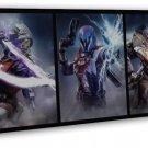 Destiny 2 The Taken King Game Warlock Titan Hunter 20x16 FRAMED CANVAS Print