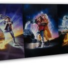 Back To The Future DMC 12 Car Wall Decor 16x12 Framed Canvas Print