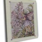 Cicely Mary Barker The Lilac Fairy Fine Art 20x16 Framed Canvas Print