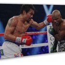 Manny Pacman Pacquiao Boxing Champion Wall Decor 20x16 FRAMED CANVAS Print
