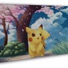 Pokemon Pikachu Japanese Anime Art Pictures 20x16 FRAMED CANVAS Print