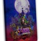 The Legend Of Zelda Majoras Mask Game 16x12 Framed Canvas Print