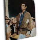 Norman Rockwell Four Freedoms Freedom Of Speech Fine Art 20x16 Framed Canvas Pri