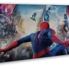 The Amazing Spider Man Superheroes Movie 20x16 FRAMED CANVAS Print