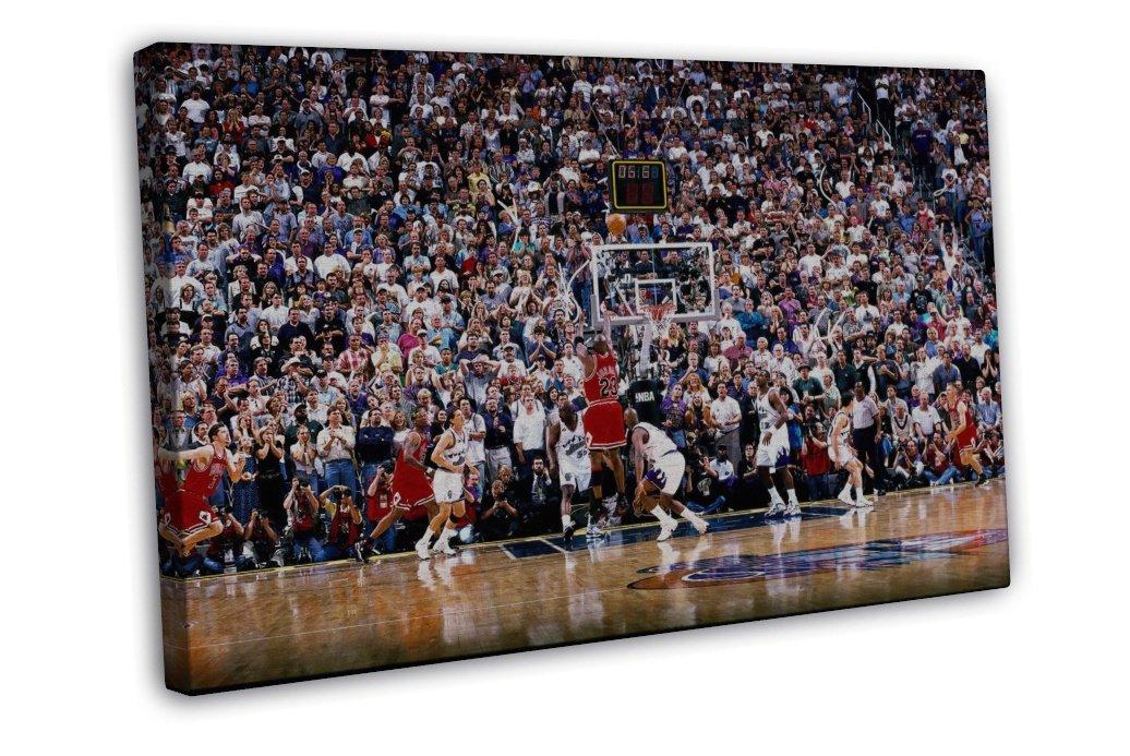 Michael jordan utah last shot basketball star wall decor for Michaels craft store utah
