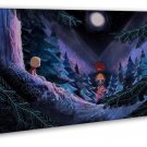 Song Of The Sea Movie Art 20x16 Framed Canvas Print Decor