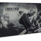 Linkin Park Music Band Group Art 20x16 Framed Canvas Print Decor