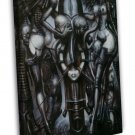 Witches Dance Hr Giger Li 2 Art 16x12 Framed Canvas Print