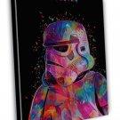 Star Wars Soldier Storm Trooper Art Image 20x16 Framed Canvas Print