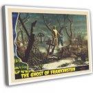 The Ghost Of Frankenstein 1942 Vintage Movie FRAMED CANVAS Print 8
