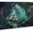 Princess Mononoke Anime Flim Art 20x16 FRAMED CANVAS Print Decor